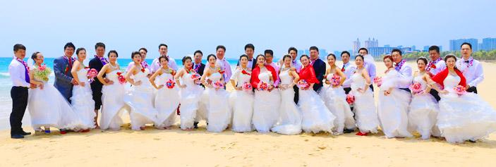 厦门集体婚礼