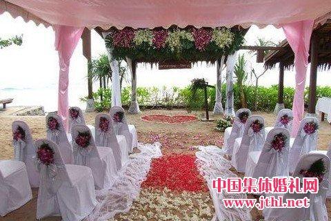 三亚海滩婚礼布置案例(图)