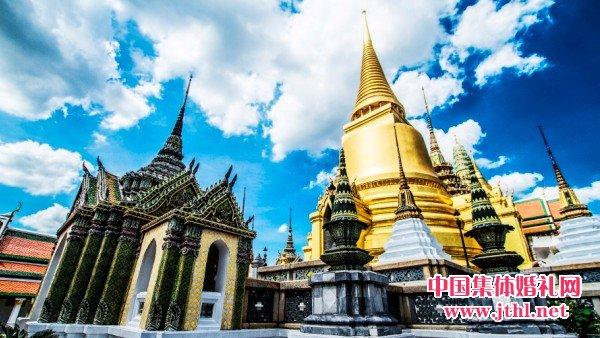 2017年5月20日泰国集体婚礼:..