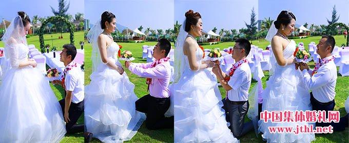 10月18日,第三十五届三亚大海边集体婚礼隆重开幕!