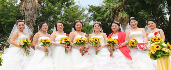 2017年8月27日厦门集体婚礼:..