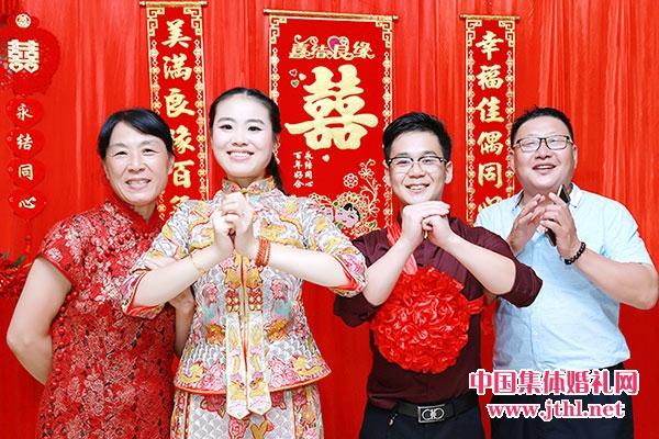 2018年5月1日南京集体婚礼:..